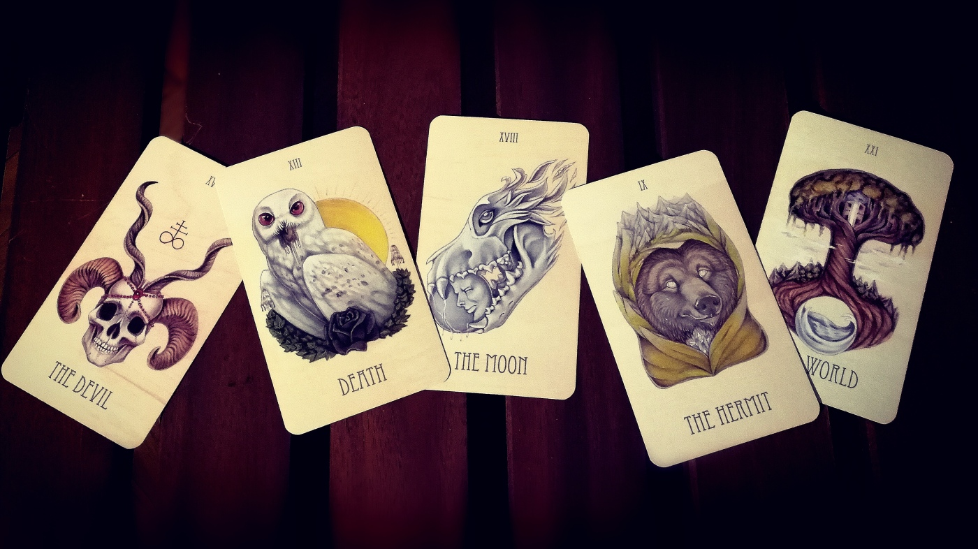 Wooden Tarot Deck